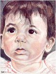 Thumbnail of Drawing: Clara at 10 Months