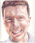 Colored pencil portrait entitled Diarmuid